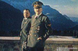 Adolf Hitler. Berghof terrass 1942.