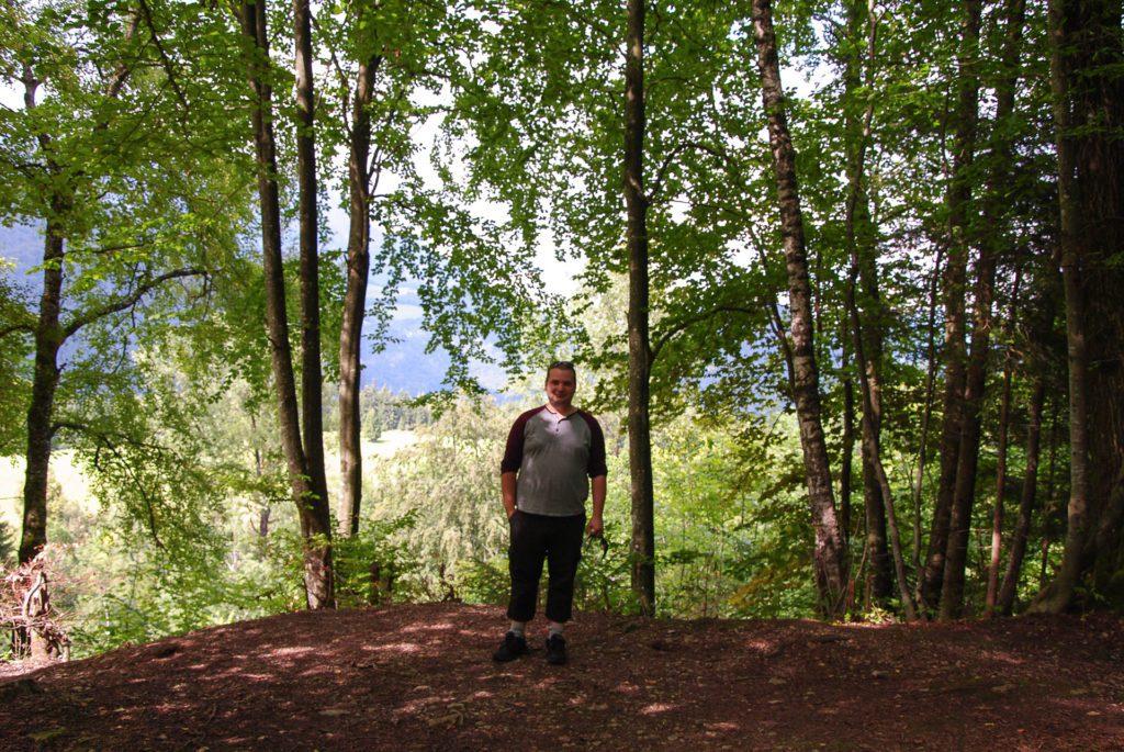 Tomas, fd Berghofs terrass sommaren 2011